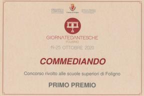 """L'Ite Scarpellini vince il primo premio del concorso """"Commediando"""""""