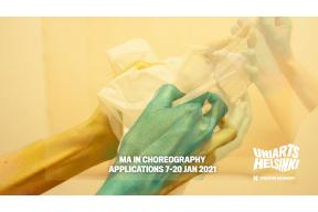 Master's Degree Programme in Choreography
