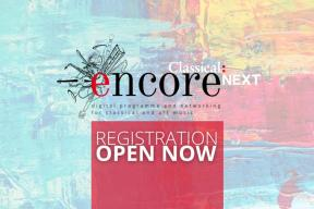 Classical:NEXT Encore Pricing & Programme