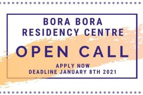Open call: Bora Bora Residency Centre