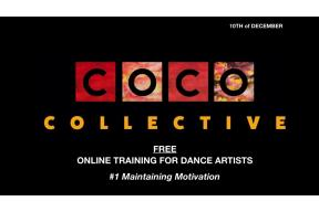 FREE 60 MINUTE ONLINE PERSONAL DEVELOPMENT TRAINING FOR DANCE ARTISTS