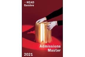 MASTER ADMISSIONS 2021: Haute École d'Arts Appliqués, Genève