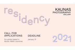 Call for Applications – Kaunas Photography Gallery Residency 2021