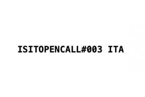 Open call: ISIT.magazine