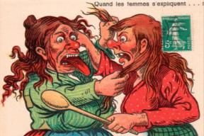 "Love!"" Is it a Joke:  Misogyny and Symbolic Violence in Graphic Humour"