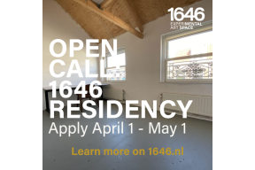 Open Call: 1646 Residency