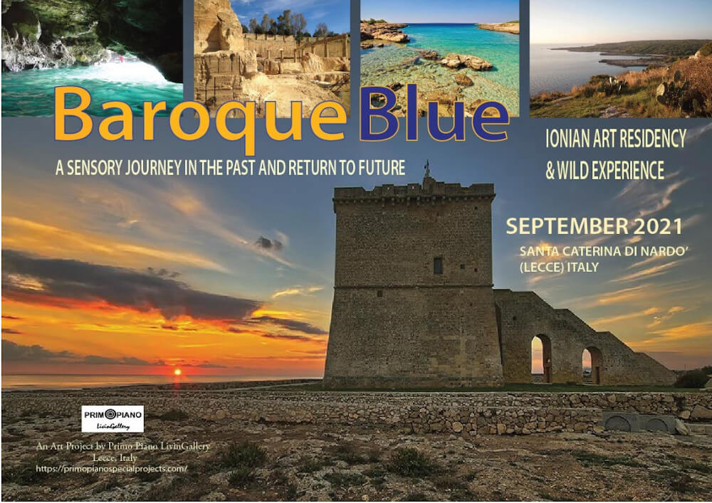 BAROQUE BLUE  Ionian Art Residency & Wild Experience