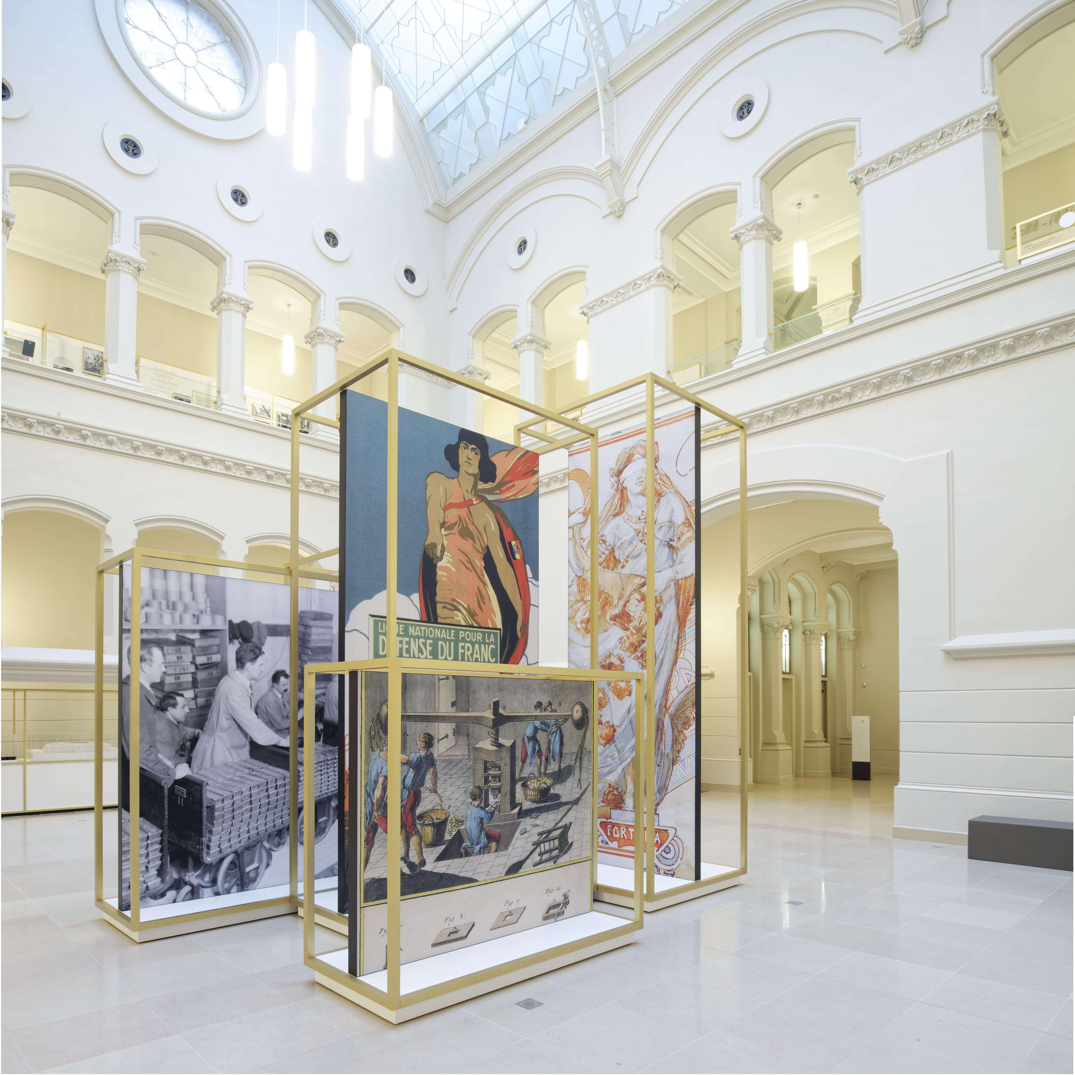 Guide de musée francophone à la banque nationale de Belgique