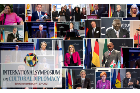 The International Symposium on Cultural Diplomacy in 2021