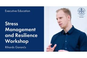 Workshop: Stress Management and Resilience Workshop
