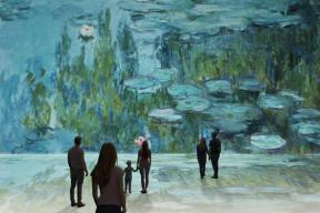 EXPOSITION: CLAUDE MONET, The immersive experience