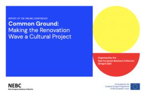 New European Bauhaus Collective's report