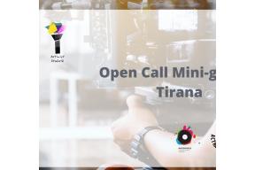 OPEN CALL for Mini-Grant / Tirana