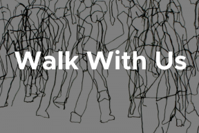 Call for Artist Submissions: Walk With US