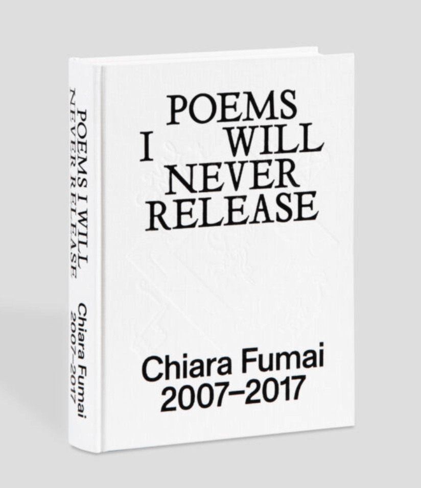 EXHIBITION: Chiara Fumai, Poems I Will Never Release, 2007-2017