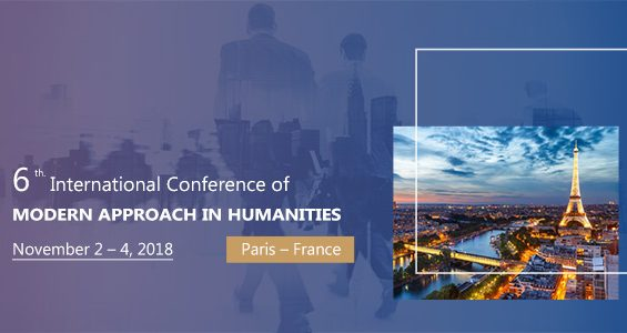6th International Conference on Modern Approach in Humanities