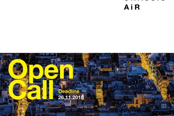 Open Call | Onassis AiR (Artists-in-Residence) 2019/20