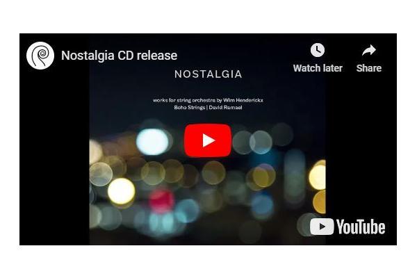 Nostalgia CD recording
