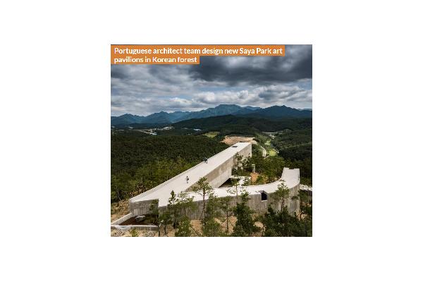 Portuguese architect team design new Saya Park art pavilions