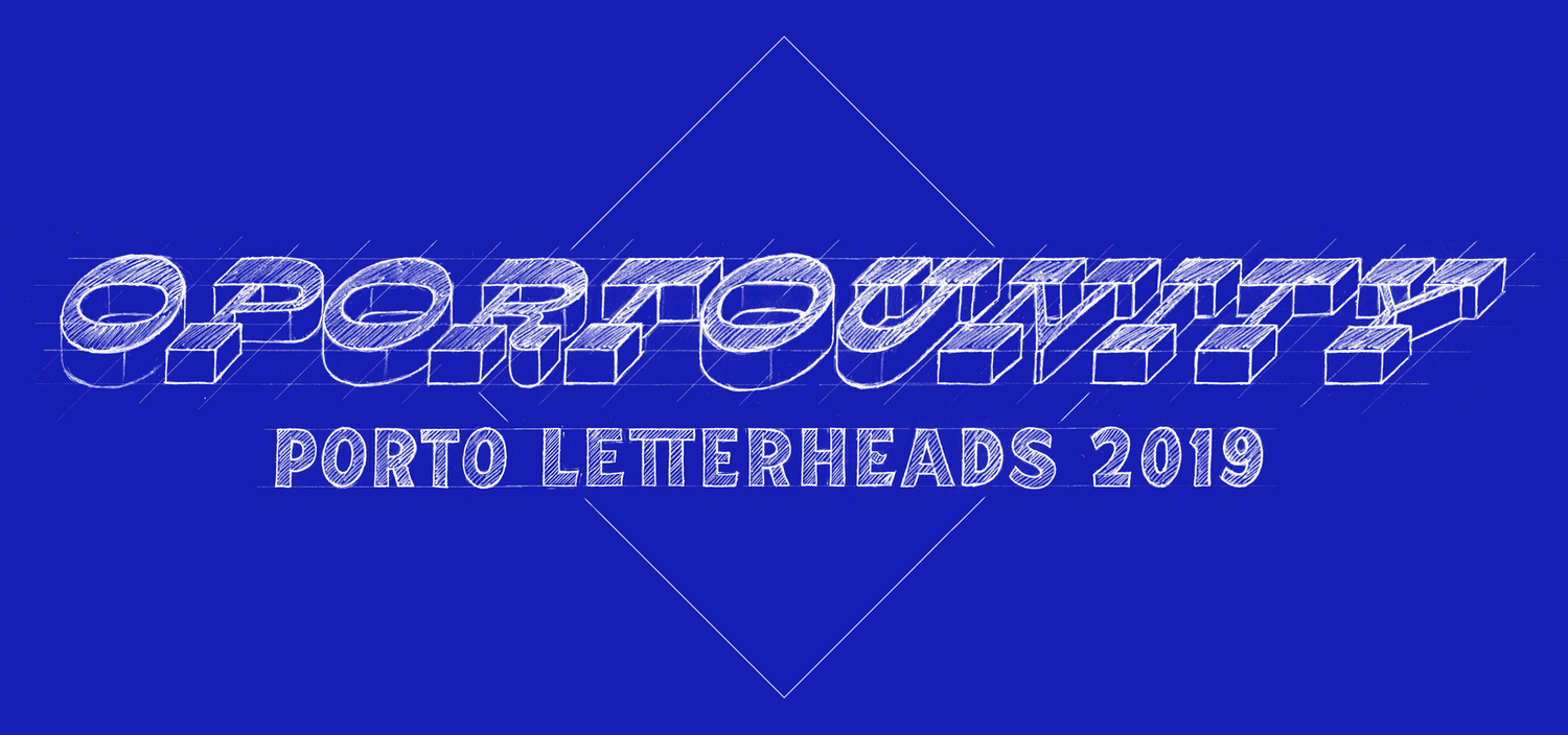 Porto Letterheads 2019 - Get your earlybird tickets now!