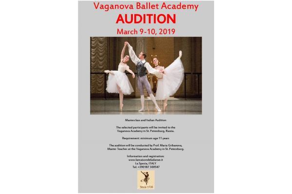 Vaganova Academy Audition Italy