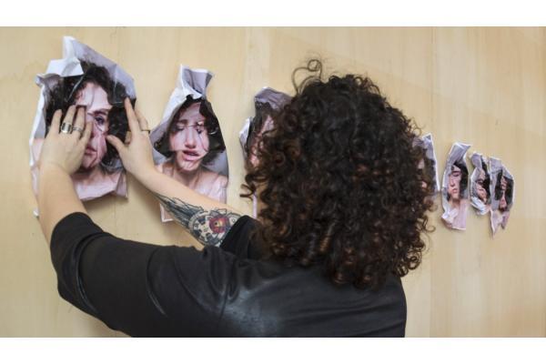 Workshop with Mustafa Sabbagh - Ceci n'est pas un selfie