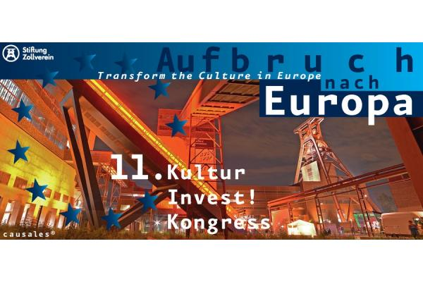 11th CultureInvest! Congress at the UNESCO-Site Zollverein