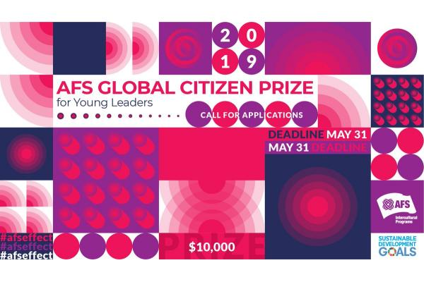 AFS Global Citizen Prize 2019 for Young Leaders
