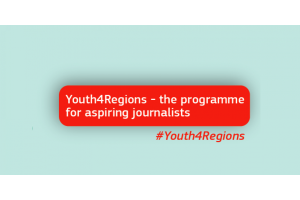 YOUTH4REGIONS: THE PROGRAMME FOR ASPIRING JOURNALISTS