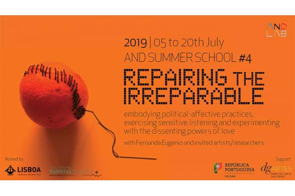 THE AND SUMMER SCHOOL 2019 REPAIRING THE IRREPARABLE