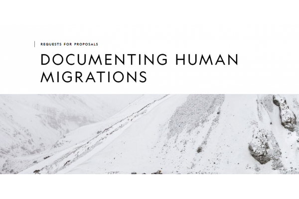 DOCUMENTING HUMAN MIGRATIONS