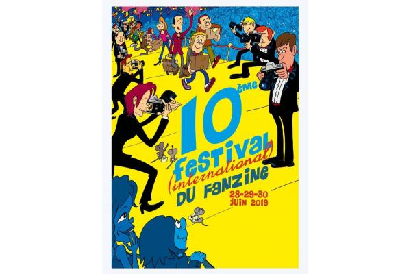 FESTIVAL INTERNATIONAL DU FANZINE DE BRUXELLES 2019