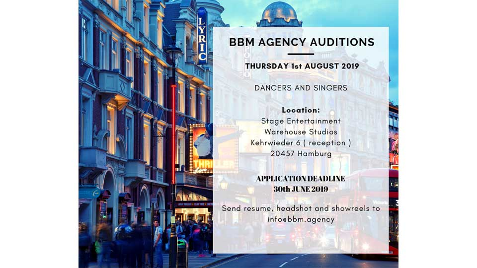 BBM Agency Audition