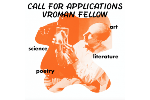 Vroman Fellow CALL FOR APPLICATIONS 2020