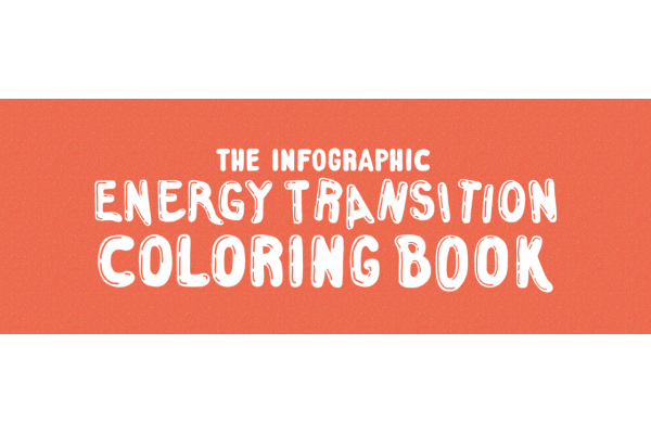 The Infographic Energy Transition Coloring Book Kickstarter