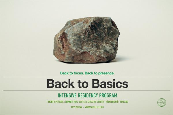 Back to Basics - Intensive residency program in Finland, Summer 2020