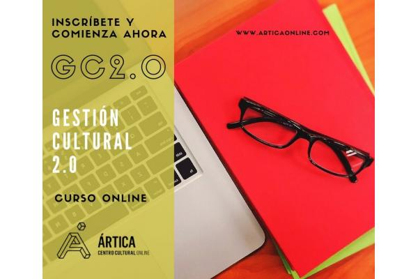 Curso online Gestión Cultural 2.0