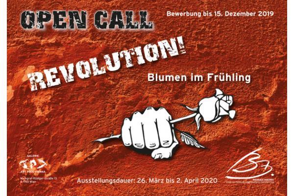 Open Call - REVOLUTION! – Blumen im Frühling