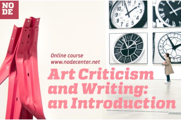 Art Criticism and Writing: an Introduction - Online course