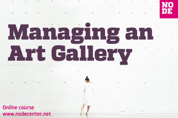Managing an Art Gallery - Online course