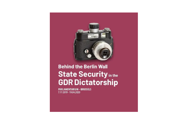 Behind the Berlin Wall – State Security in the GDR Dictatorship