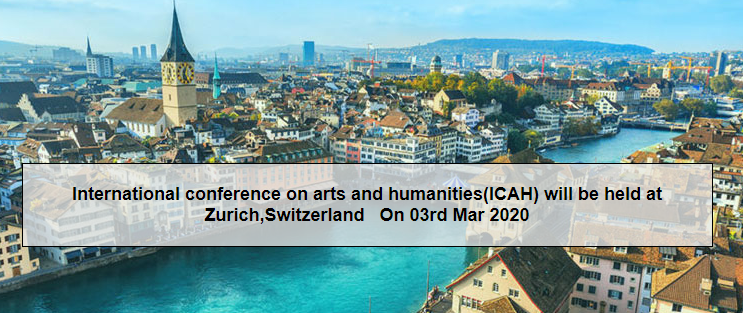 Call for Contributors: International conference on arts and humanities