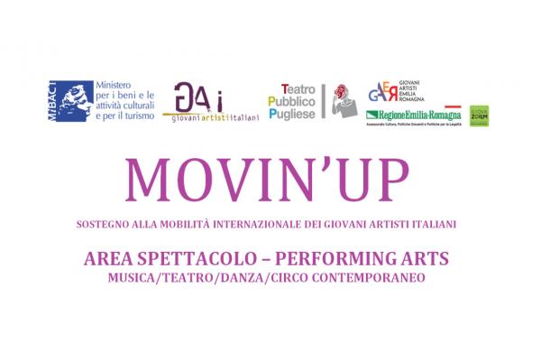 Bando di concorso: Movin' Up Spettacolo - Perfoming Arts