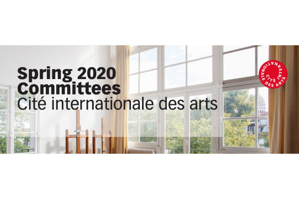 Application for art residency: Cité internationale des arts