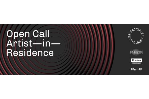 Open call for Artist in Residence 2020