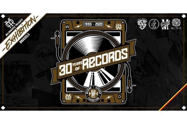 "Stagiaire/bénévole - Exposition Hip Hop ""30 Years of Records"""