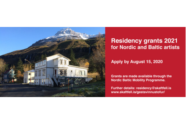 Skaftfell: Residency for Nordic and Baltic Artists