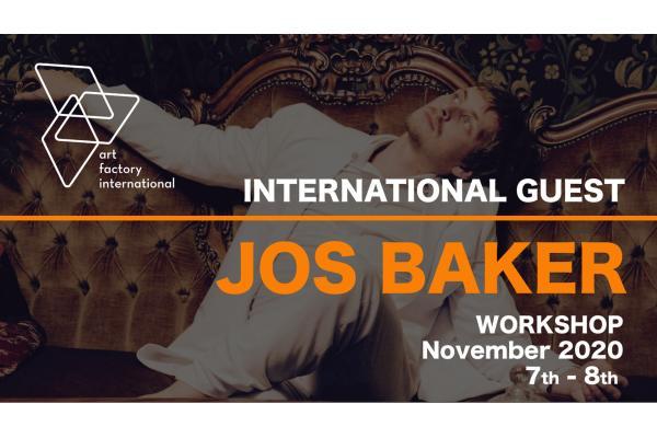 JOS BAKER WORKSHOP 7-8 NOVEMBER 2020, BOLOGNA (ITALY)