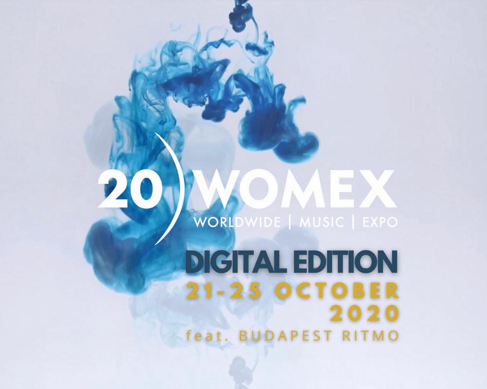 WOMEX 20 Digital Edition 21 - 25 October feat. Budapest Ritmo