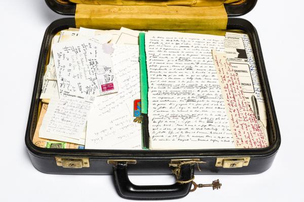 Exposition - Les valises de Jean Genet